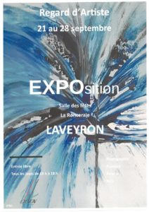 Exposition Regard d'Artiste @ La Ronceraie | Laveyron | Auvergne-Rhône-Alpes | France